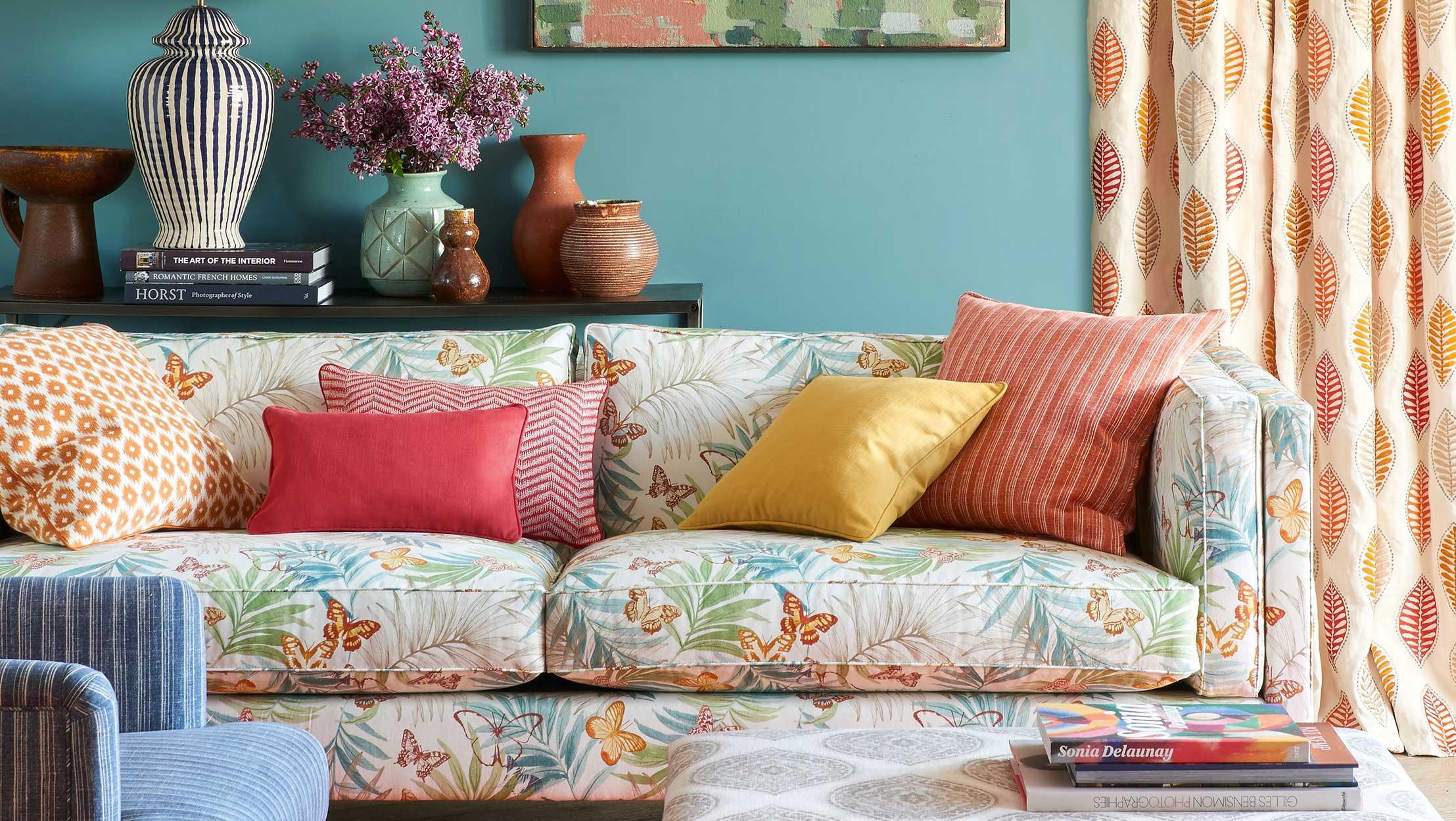 tessuti di arredamento divani